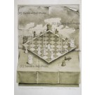 lithograph: The Warped Chessboard Nr. 60/90